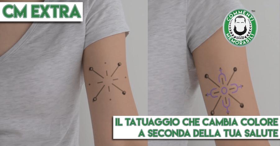 tatuaggio cambia colore glicemia salute insulina
