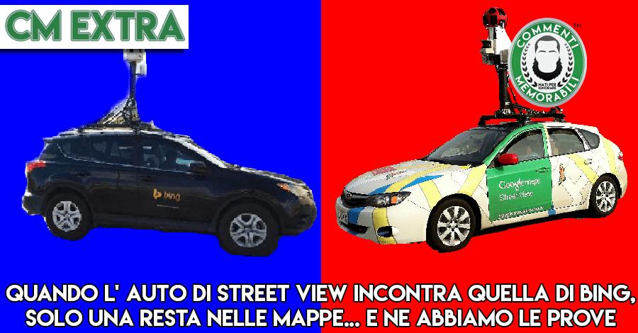 auto BING contro auto google maps