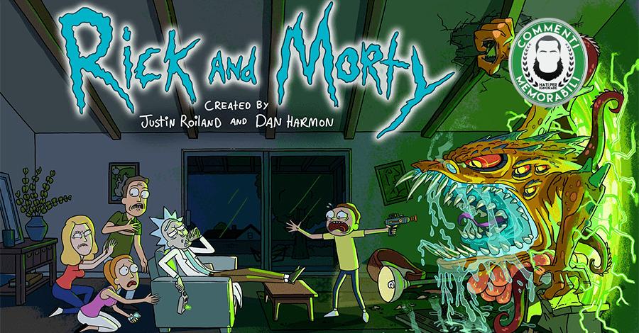 rick morty serie fantastica stupenda