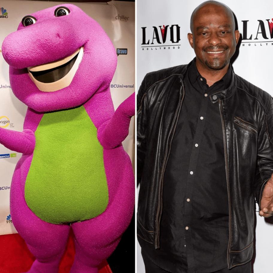 Barney il dinosauro e David Joyner