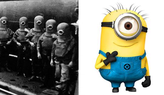 la bufala dei bambini nazisti e i minions