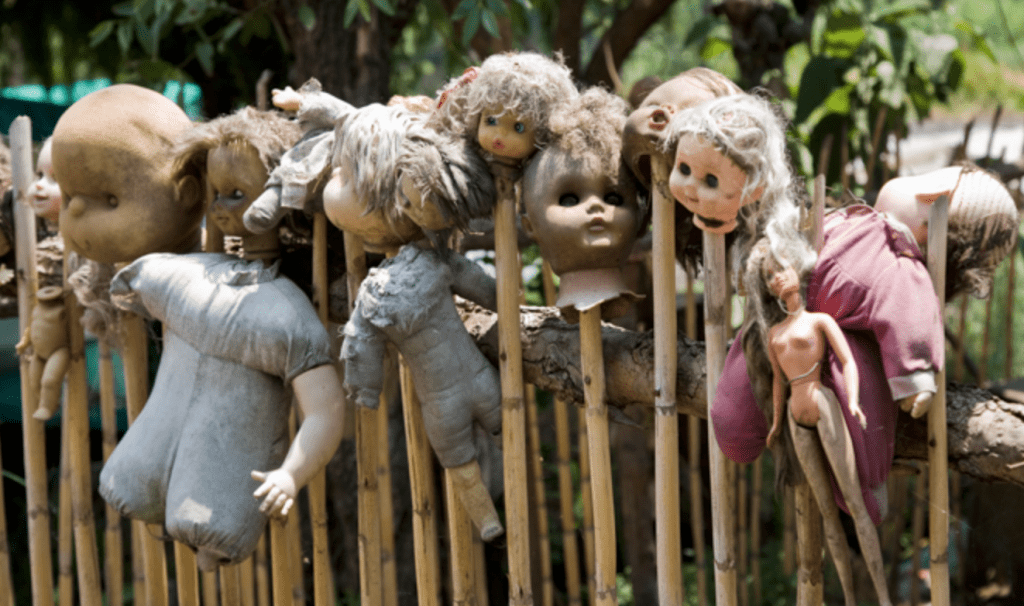L'isola delle bambole