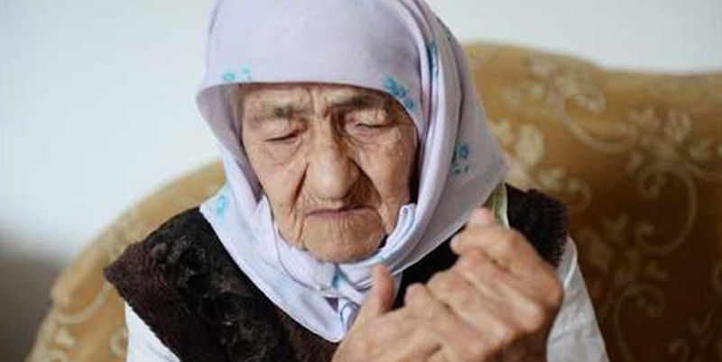 anziana, record, Cecenia, gioia