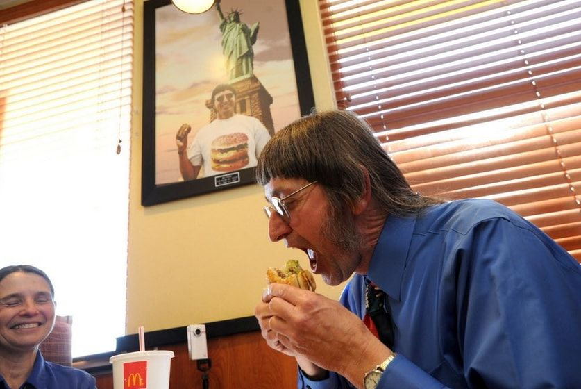 Big Mac, record, dieta, colesterolo