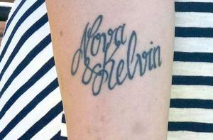 tatuaggio, Kevin, errore, mamma