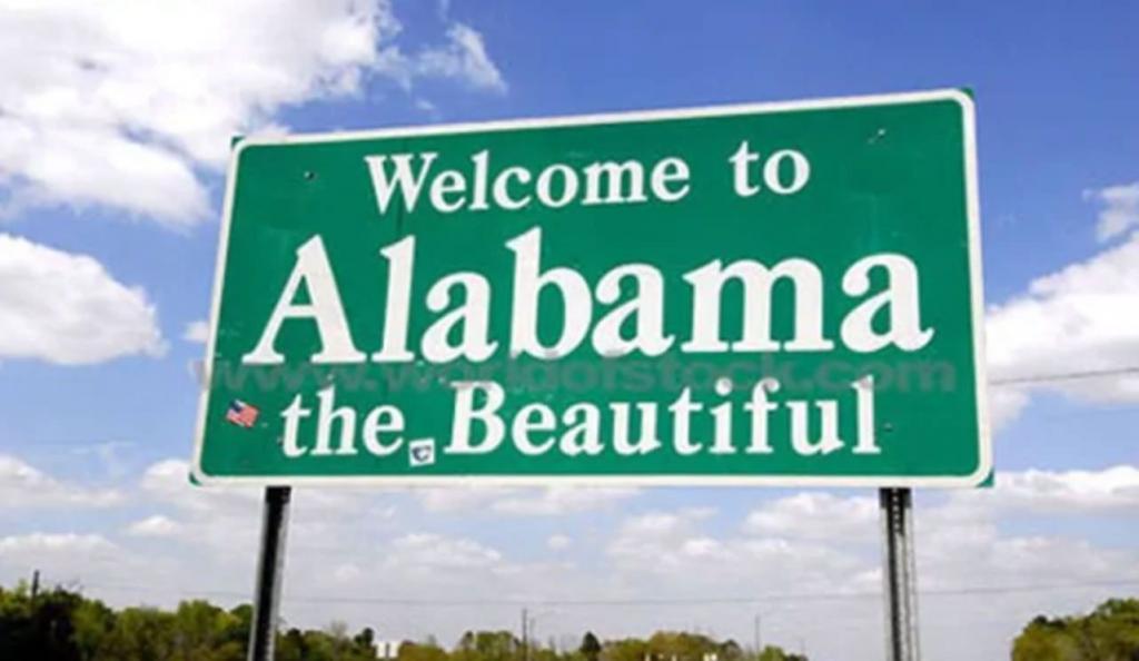 il treno della cacca in Alabama