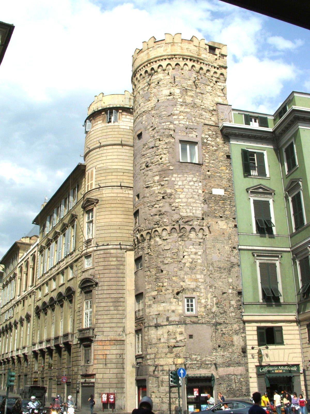 Il carro fantasma di Porta dei Vacca a Genova