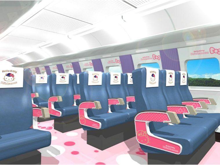 Hello Kitty Shinkansen treno alta velocità