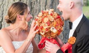 bouquet, pizza, matrimonio, concorso
