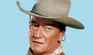 John Wayne, turista, ombrellone, spiaggia