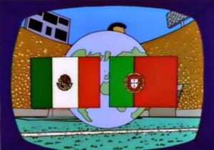 Mondiali, Simpson, finale, profezia