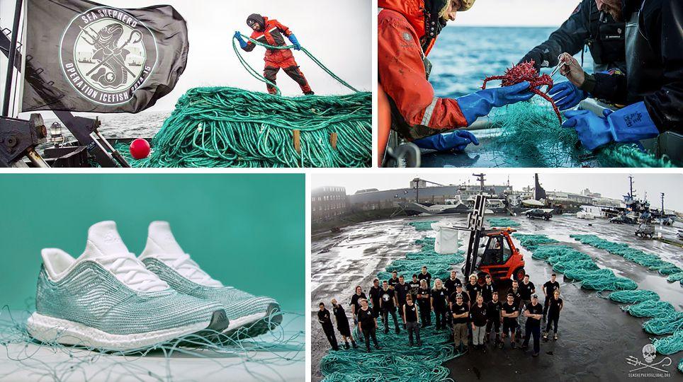 ADIDAS X PARLEY RICICLO SCARPE GINNASTICA PLASTICA OCEANI MARE COMMENTI MEMORABILI