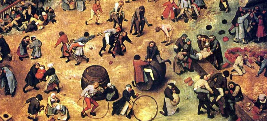 giochi pericolosi nell'epoca Tudor