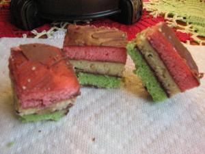 Biscotti arcobaleno Rainbow Cookies Italia