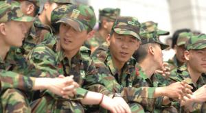 Coreani alle prese col servizio militare
