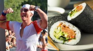Il sushi e il cliente affamato