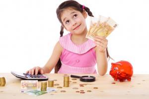 Festa di compleanno con soldi