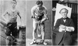 Alcune esibizioni di Houdini