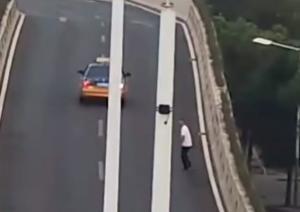 Il ponte dell'autostrada cinese