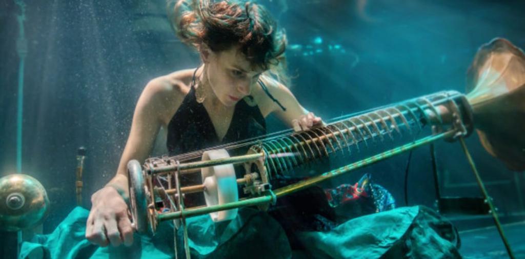 Aquasonic: il primo concerto eseguito sott'acqua