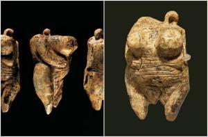 I frammenti della Venere di Ulm