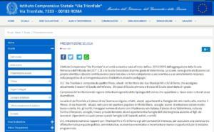 schermata-sito-scuola-via-trionfale-roma
