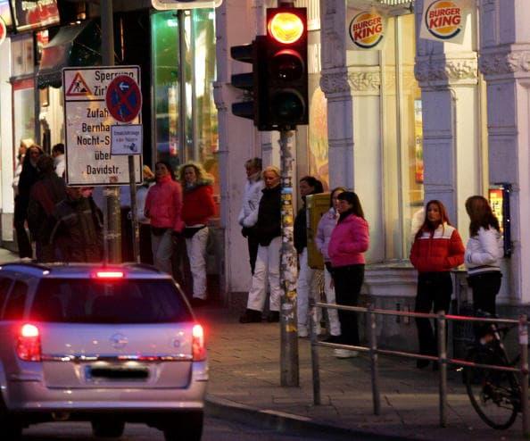 divieto di contatto-vita prostitute di amburgo