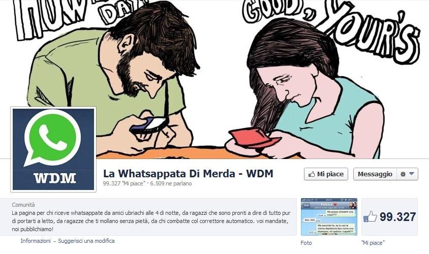 La pagina facebook che ti fa ridere con le whatsappate di for Chi fa le leggi in italia