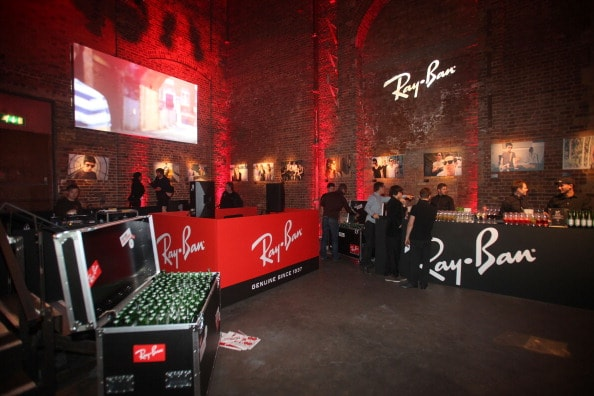 Ray Ban Raw Sounds Event