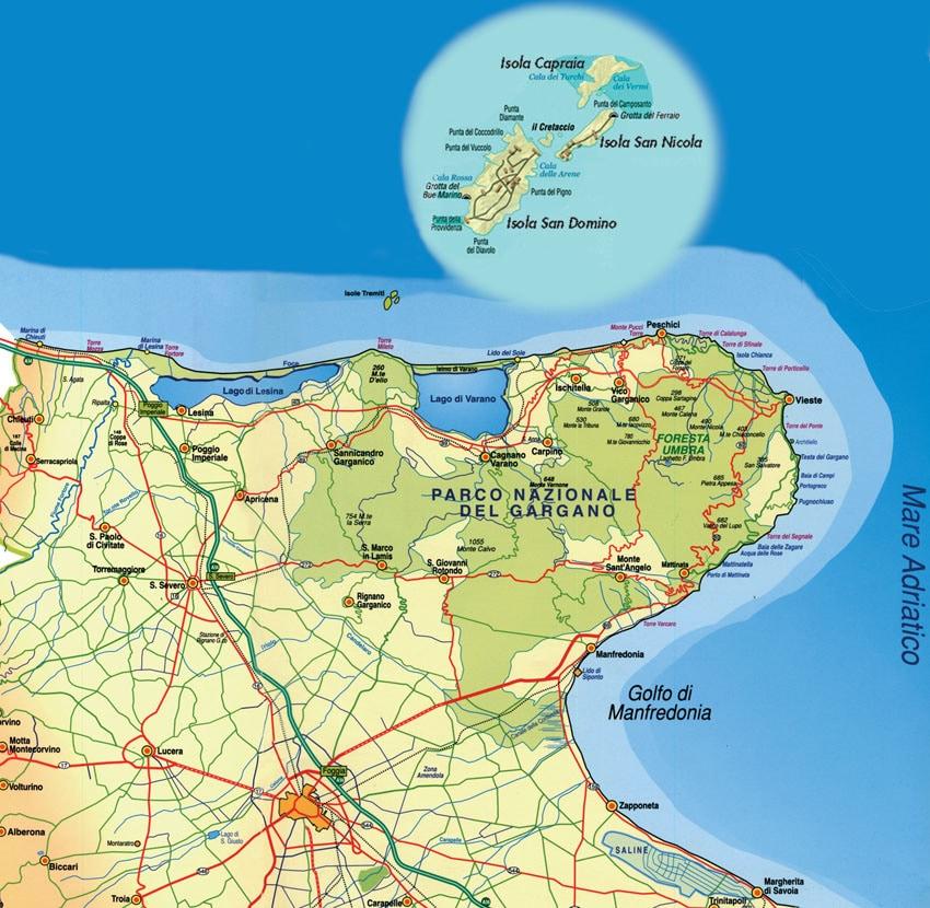 Cartina Geografica Delle Isole Tremiti.L Isola Gay Di Mussolini Giornalettismo