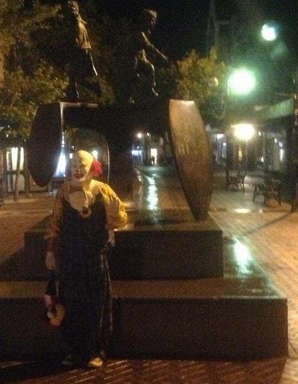 Foto: Facebook/Spot Northampton's Clown