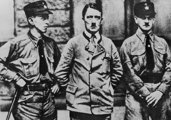 Hitler And Brownshirts