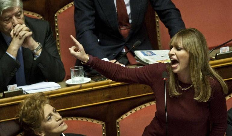 Alessandra Mussolini L Intervista A Chi Sul Marito Mauro Floriani