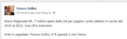 Franco Grillini costo preti ospedale 3