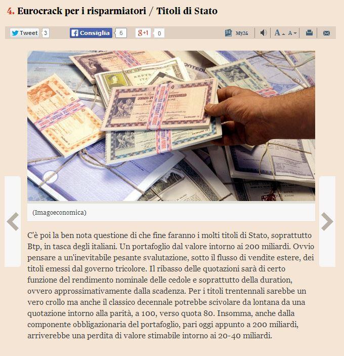 italia fuori dall'euro che succede 4