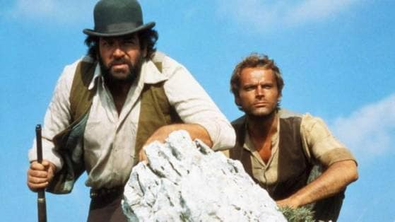bud spencer e gli auguri di compleanno a terence hill su. Black Bedroom Furniture Sets. Home Design Ideas
