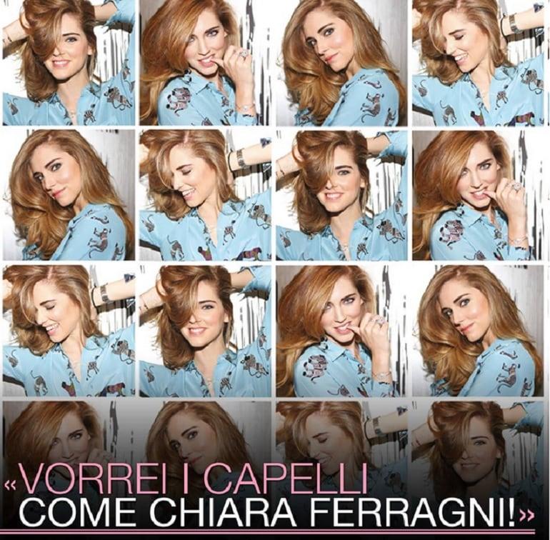 La pubblicità con i capelli di Chiara Ferragni che finisce ...