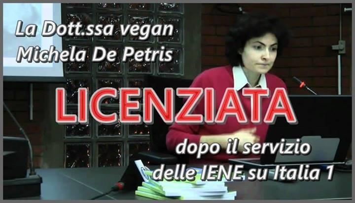 de petris licenziata cancro cucina vegetariana iene 5