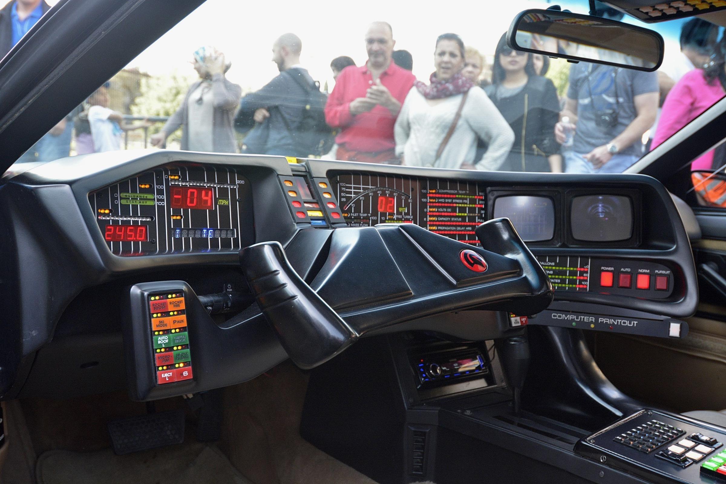 La macchina Kitt di Supercar al Colosseo | Giornalettismo