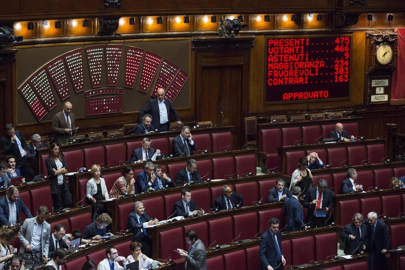 Il voto di preferenza grande assente in europa for Camera dei deputati