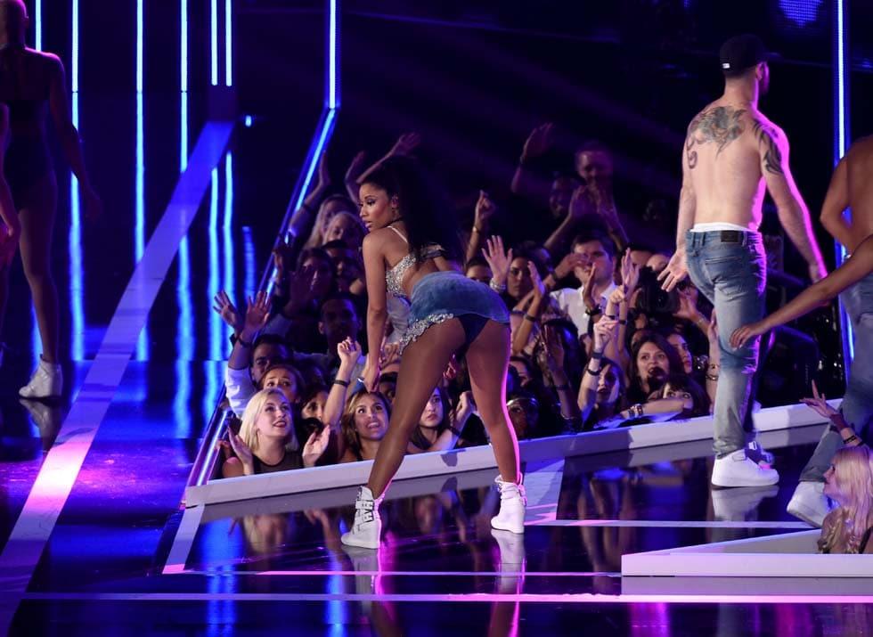 Nicki Minaj censurata ...
