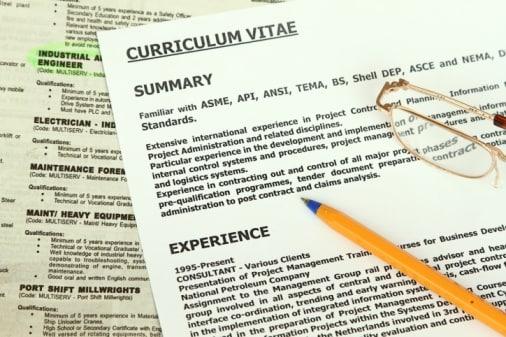 Curriculum Vitae Europeo E Lettera Di Presentazione Errori Da