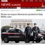 Mafia a Roma, la reazione sui giornali esteri