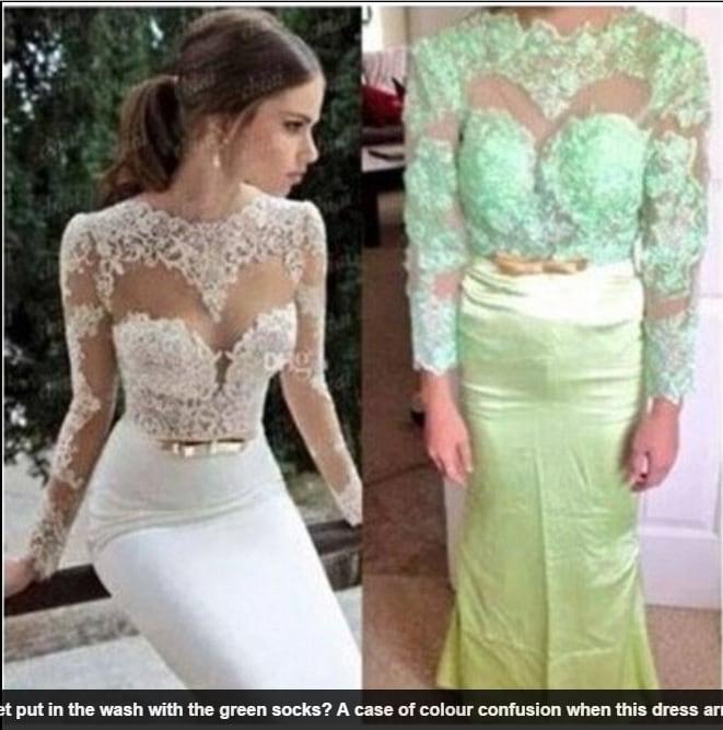 cheap for discount c0c7b 427ca Gli abiti da sposa comprati su Internet prima e dopo la cura ...