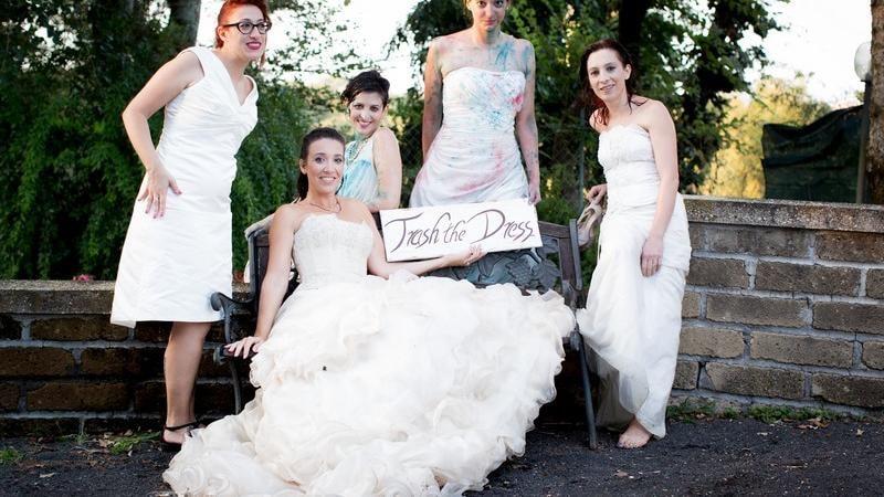 Trash the dress, in arrivo in Italia l'ultima tendenza sugli