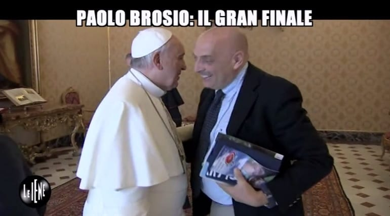 paolo brosio papa francesco