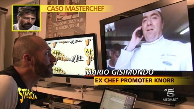 Striscia La Notizia contro Masterchef: Stefano Callegaro rifiuta l'incontro con gli ex-colleghi promoter