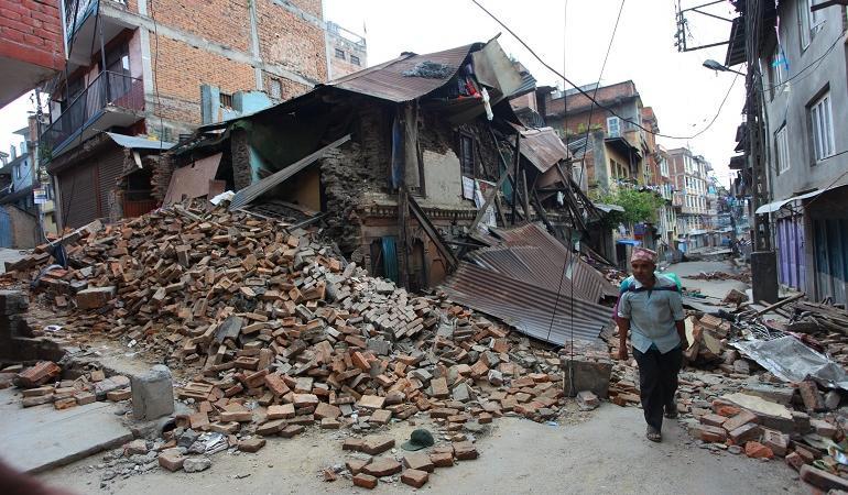 terremoto nepal bufale