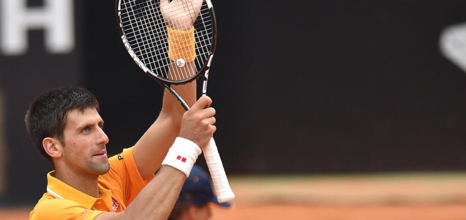 Internazionali Roma vince Djokovic