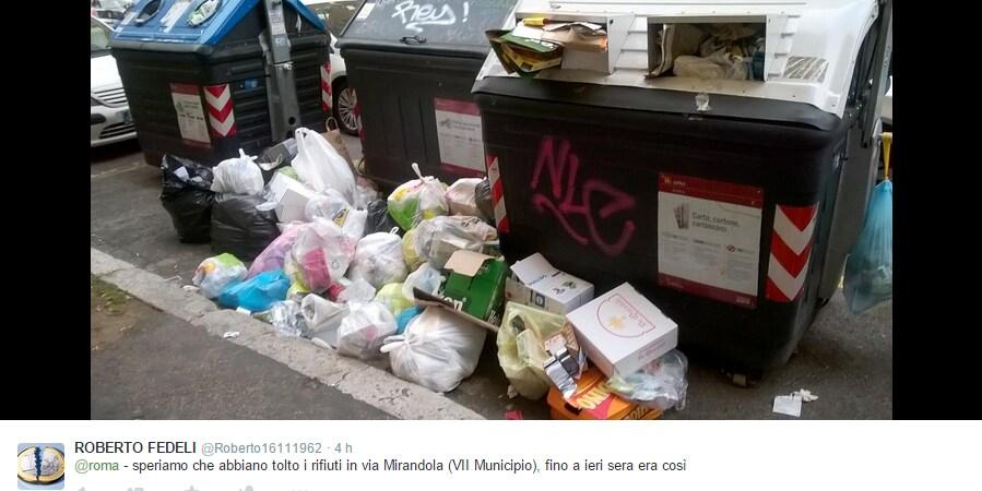 emergenza rifiuti roma ignazio marino manlio cerroni